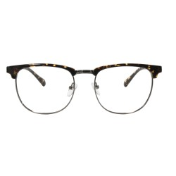 Clubmaster style frame