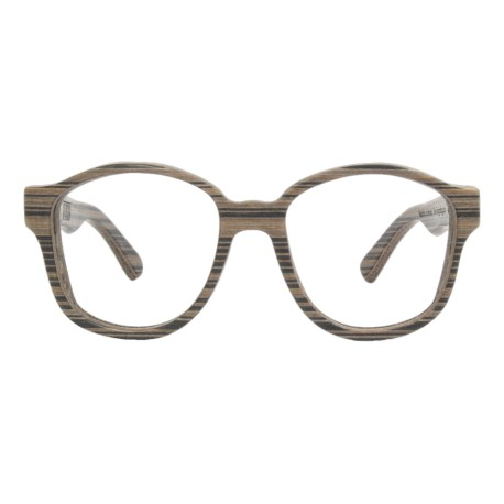Wood glasses vintage style