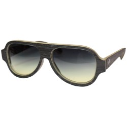Wood Sunglasses , Pilot style UV400