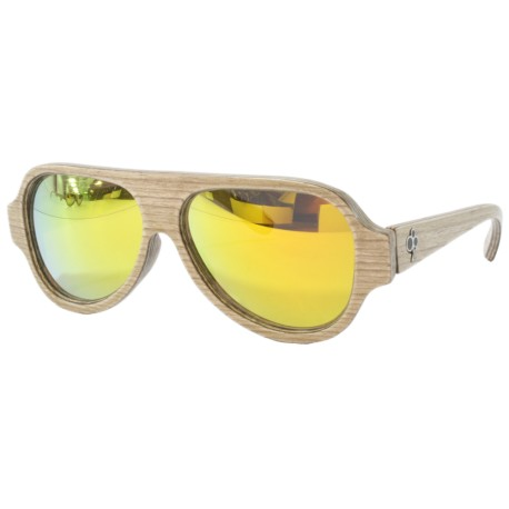 Wood sunglasses, aviator glasses, UV400