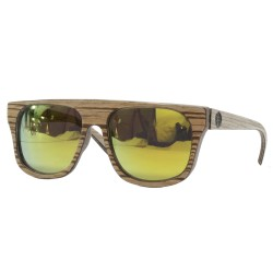 Wood design sunglasses, vintage style sunglasses, UV400