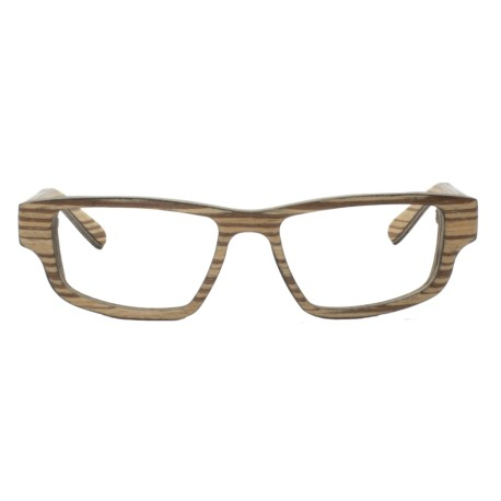 Wood sporty style glasses, sunglasses or optical frame UV400