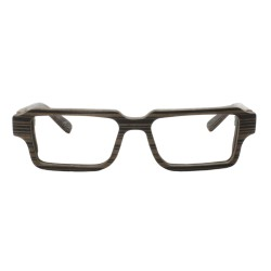 Glasses in wood, optical frame